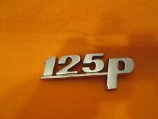 Vintage original metal emblem Fiat 125p LOGO collectable (polonez) polski fiat