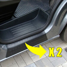 VW T5 TRANSPORTER 2PCS DOOR ENTRY GUARD SILL PROTECTOR KICK PLATE COVER PAIR