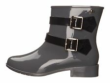 New Melissa  Vivienne Westwood Anglomania Women's Ankle Boots Grey/Black sz 5