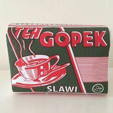 2 packs x 80gr - 2.82oz Teh Gopek, Jasmine Tea-Loose Leaf-Old Design Paper Wrap