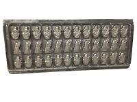 Antique / Vintage Tilburg Vormenfabriek - Holland - Chocolate Mold P15606-15607