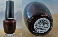 Opi Nail Polish - Romeo And Joliet Discontinued Color Lacquer New Bottle