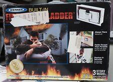 New WERNER 3-Story Model ESC-330 BUILT-IN FIRE ESCAPE LADDER - Length 24ft-8in