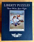 LIBERTY wooden JIGSAW PUZZLE Mary Cassatt 490 pieces WHIMSY Children Beach Play