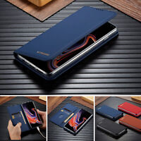 For Samsung Galaxy Note 10 Plus S10e S9 S8 Case Magnet Flip Leather Wallet Cover