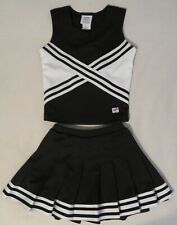 Authentic 2 Piece Cheerleader Uniform Size Youth Large.