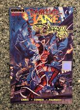 PAINKILLER JANE VS DARKNESS #1 NM (Event 1997) Wizard COA Greg & Tim Hildebrandt