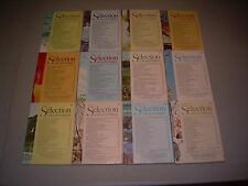 #22 Lot of all 12 months Sélection du Reader's Digest Complete Year 1977