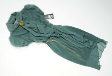 RINASCIMENTO - Stunning green argyle print chiffon dress UK 10 / M