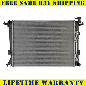 Radiator For 2013-2014 Hyundai Genesis Coupe L4 Lifetime Warranty Fast Shipping