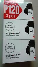 KOJIE SAN kojic acid soap Skin lightening 3 bars 100 grams Philippines new stock