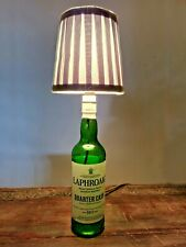 More details for laphroaig whisky bar/man cave table lamp shade-wired uk plug- fast free delivery