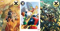 X-Men #3 First Print - Alex Ross Variant - McKone Venom Island Variant - Marvel