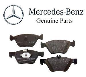 For Mercedes R170 SLK320 C208 CLK320 W210 E420 Front Disc Brake Pad Set Genuine