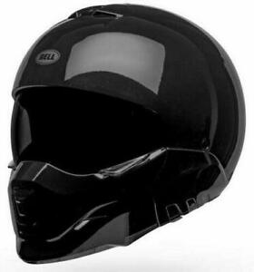 NEW Bell Broozer Solid Motorcycle Helmet - Black from Moto Heaven