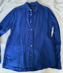 Scotch & Soda Large Linen Shirt