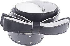 Retro BLACK & WHITE Schleifen Bow TAILLENGÜRTEL - Belt Rockabilly