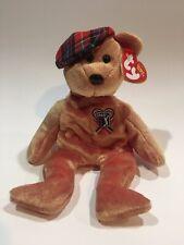 TY Beanie Baby - CHARI TEE- PGA Golf Bear (9 inch) - MWMT's Stuffed Animal Toy