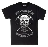 Khazad-Dum Miners Club T-Shirt The Lord of the Rings and The Hobbit Unofficial