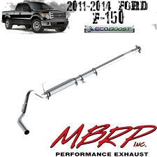 """MBRP 4"""" Performance Aluminized Cat-Back Exhaust for 2011-2014 Ford F150 Ecoboost"""