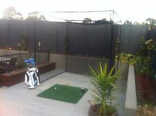 Golf training practice net and Mat - Fairway Commercial size Mat and Par Net