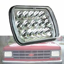 7X6 Inch 45W LED Headlight Bulb Sealed Beam GMC Ford F150 F250 F350 Jeep YJ