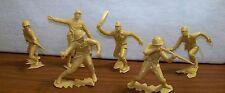 Marx Toys, WW II Series, Set of 6 inch figures Japanese