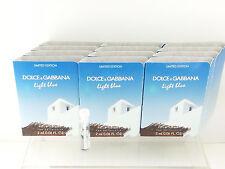 DOLCE GABBANNA Light Blue Living Strombli EDT 2ml / 0.06 oz Spray Vial x 12 PCS