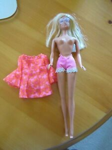 VINTAGE BARBIE PJ DOLL ORIGINAL CLOTHES WITH SUNGLASSES KOREA