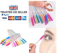 5 PCS BLUE DISPOSABLE EYELASH WAND SPOOLIE BRUSH COSMETIC BRUSH APPLICATOR MUA