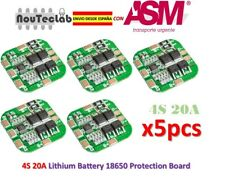 5pcs 4S 20A 14.8V / 16.8V Peak Li-ion BMS PCM Battery Protection Board