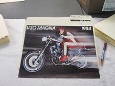 NOS Honda 1984 V30  MAGNA  DEALER SALES BROCHURE