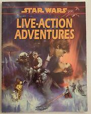 Star War Live-Action Adventures RPG ~West End Games~ 1996