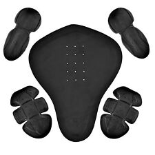5 Pc Removable PU Armor for Motorcycle Biker Jacket New PR2
