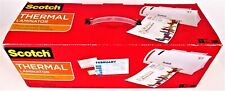 Scotch Thermal Laminator With 2 Starter Pouches 85 X 11 New In Box