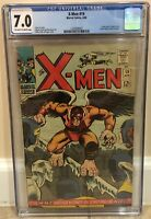 X-MEN #19 CGC 7.0 1ST FIRST APPEARANCE & ORIGIN OF THE MIMIC (CALVIN RANKIN)