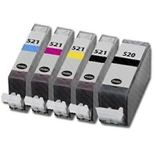Canon Set De 5 Color Original Tintas pgi520bk cli521