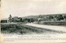 Carte DIXMONT Aspect du village côté Joigny Carriole