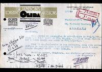 """PARIS IX° / CONSERVES ALIMENTAIRES / SAUSSISSON JAMBON """"OLIDA"""" en 1949"""