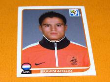 347 AFELLAY NEDERLAND KNVB PANINI FOOTBALL FIFA WORLD CUP 2010