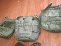 2ea U.S. Military 1 QT Canteen Cover Pouch 8465-00-860-0256