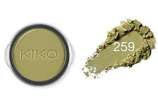 KIKO Milano infinity highly pigmented eyeshadow in Golden Green # 259