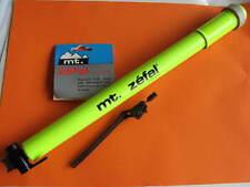 Pompa ad aria MT. ZEFAL CLASSIC ALLUMINIO 30x380 mm Schrader/presta Verde-neon