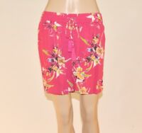 M&S Marks and Spencer Blue Pink Green Floral Tassel Summer Shorts Size 6-18 A57
