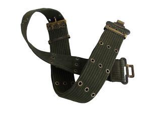 Military WEBBING BELT 58 PATTERN Pistol Type Genuine Issue Adjustable XXS-XXL OG