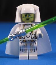 LEGO® STAR WARS™ 75025 JEDI™ CONSULAR w/ Dual Trans Green Saber & White Cape!