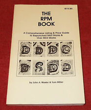 The RPM Book, Wexler & Miller 1st Edition, Repunched Mint Marks, NEW Signed Copy