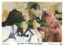 GONE WITH THE WIND LOBBY CARD size 9.5x13.5 Spanish MOVIE POSTER 4 Card's R1950s