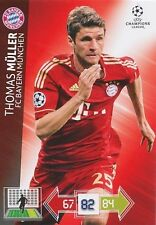 MULLER # DEUTSCHLAND BAYERN MUNCHEN CHAMPIONS LEAGUE TRADING CARDS 2013