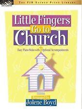 Little Fingers Go To Church, Piano Solo Book arranged by Jolene Boyd - FJH Music